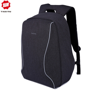 Image 1 - Tigernu moda sırt çantası Anti hırsızlık erkekler sırt çantası iş dizüstü sırt çantası kadın 14 17 inç sırt çantası seyahat Mochila Feminina