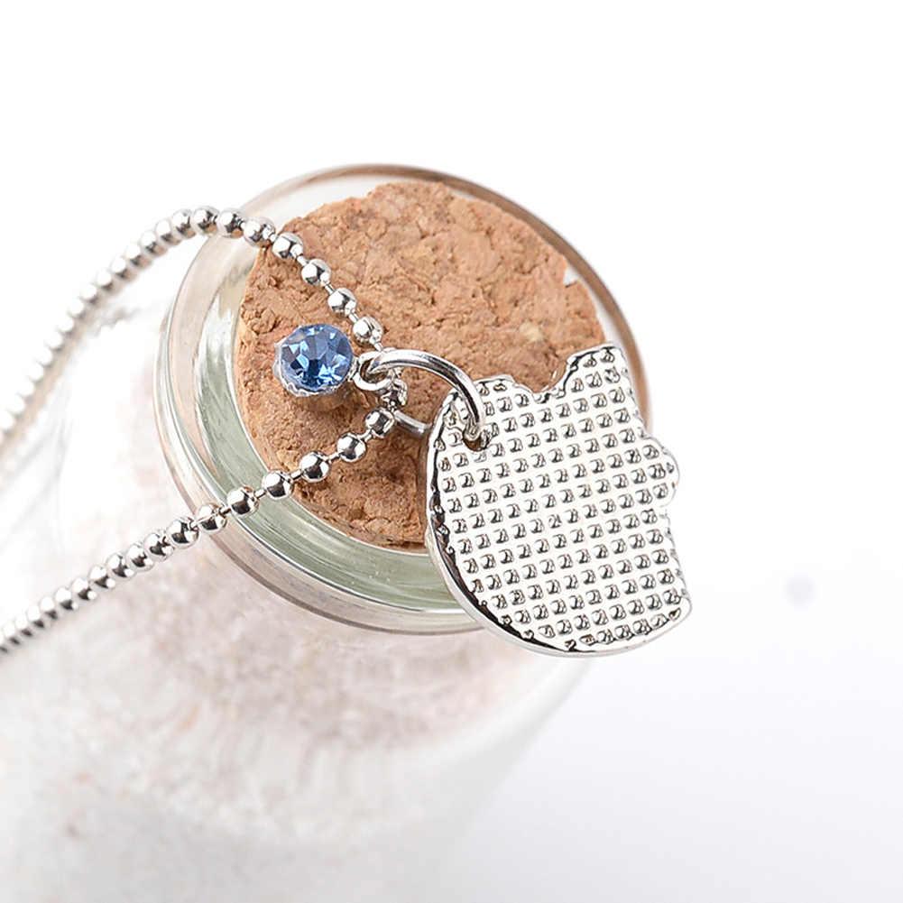 "4 Pcs/set ""best Friends Forever"" Friendship Necklace Crystal Rhinestone Broken Heart Shape Necklace Gift For Friends"