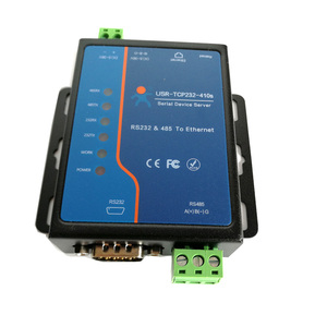 Usr-Tcp232-410S RS232 / RS485 Serial to Ethernet Adapter/IP Device Server Ethernet Converter Support DHCP/DNS(China)
