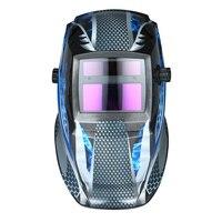 New Welding Helmet Solar Power Auto Darkening Industrial Welding Helmet TIG MIG with Adjustable Head Band adjustable sensitivity
