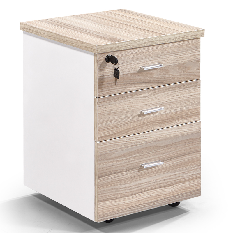 File Cabinet Under Drawer Cabinet Mobile Cabinet Low Cabinet Storage Cabinet Data Cabinet Locked Three Drawer Cabinet