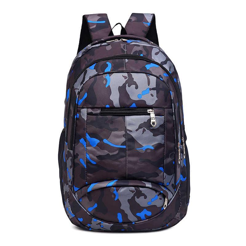 Nowy 2019 moda kamuflaż torba szkolna plecak opakowanie zbiorcze