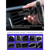 car air outlet Car Wireless Charger Mobile Phone Bracket Suction Cup Telescopic Car Cell Phone Navigation Bracket Air Outlet Charging Bracket (5)