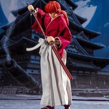 Игрушки Tronzo Dasin, модель rureuni Kenshin HIMURA KENSHIN SHF GT, модель одежды Kenshin, подвижная фигурка из ПВХ, модель, игрушки