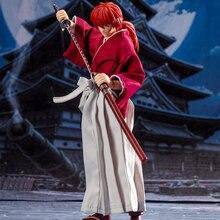 Tronzo Grandi Giocattoli Dasin Modello Rurouni Kenshin Himura Kenshin Shf Gt Modello Vestita Kenshin Mobile Pvc Action Figure Giocattoli di Modello