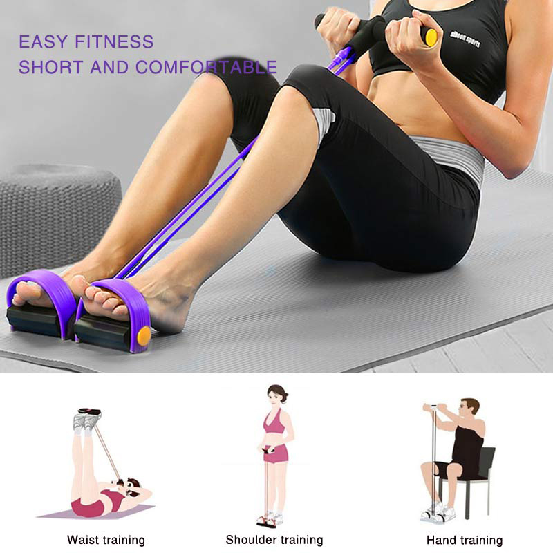 Elastic Resistance Pull Ropes Exerciser Womens Accessories Mens Accessories| The Athleisure