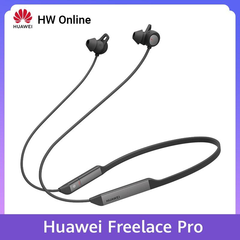 Huawei freelace pro bluetooth 5.0 fone de ouvido sem fio 3 mic design cancelamento de ruído ativo carregamento rápido