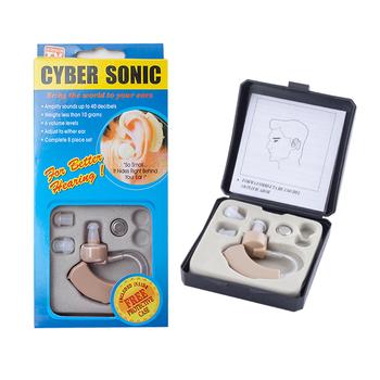 Przenośny aparat słuchowy Mini wzmacniacz dźwięku do ucha regulowany wzmacniacz słuchu apteczka Tone aparaty słuchowe dla osób niesłyszących starszych tanie i dobre opinie XceeFit Ear Sound Amplifier Hearing Aids audifonos headphones