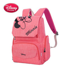 Original Disney New Fashion Mummy Bag Multifunctional Mother And Baby Bag Backpack Outing Large Capacity Backpack Female Bag