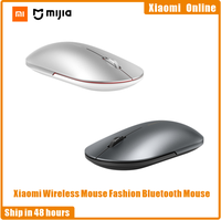 Xiaomi Mi Wireless Mouse Fashion Mouse Bluetooth Mouse da gioco 1000dpi 2.4GHz WiFi link Mouse ottico Mini Mouse portatile in metallo