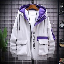 Workwear Jacket Men's Spring And Autumn 2021 New Men's Windbreaker Short Korean Style Trendy Male Student Jacket Clothes