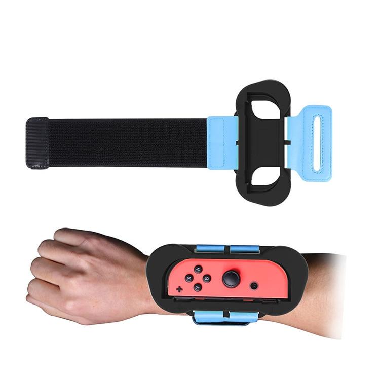 1Pair Adjustable Elastic Dance Wrist Band Strap Wristband For Nintendo Nintend Switch Just Dance 2019 Joy-Con Controller