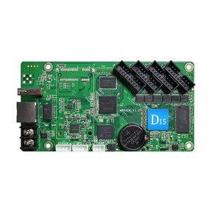 Image 2 - HD D15交換HD D10 huiduフルカラー非同期led制御カードのための専門ledスクリーン屋外p4/p8/p10
