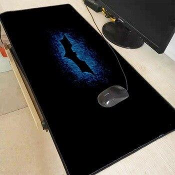 XGZ Batman Logo duża gra wodoodporna podkładka pod mysz blokowanie krawędzi podkładka pod mysz do laptopa podkładka na biurko klawiatura Mat podkładka pod mysz XXL