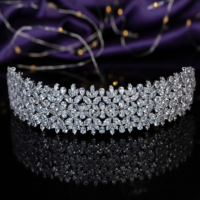 Tiaras and crown hadiyana gorgeous