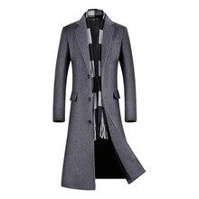 Coats for Men,A Long Jacket Below The Knee,Men's Overcoat,Men's Coat Windbreaker,Men Coats,Wool Coat Men ,Long Coat Men