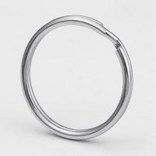 Wholesale 25mm iron nickel plated steel split key rings keyrings for chain keychain accessories DIY S1525