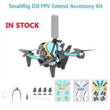 Smallrig DJI FPV zestaw akcesoriów aerodynamicznych Gimbal Protector uchwyt montażowy pionowe ogony naklejki 3D do akcesoriów DJI FPV tanie i dobre opinie CACHALOT CN (pochodzenie) SMALLRIG DJI FPV ACCESSORY KIT for DJI FPV
