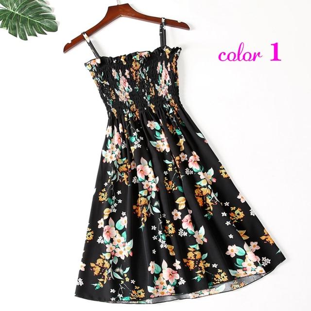 Summer Flower Chiffon Dress 3