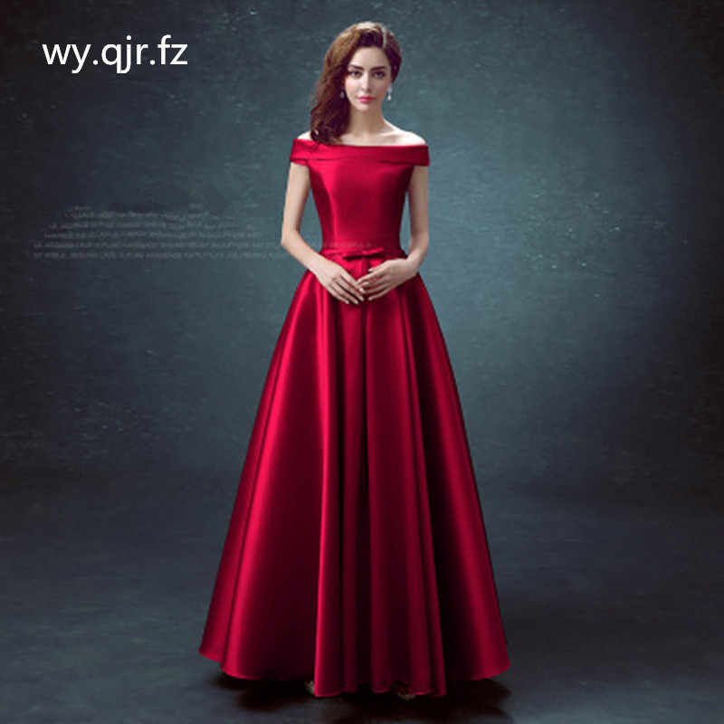 Bshs 8075 Long Bridesmaid Dress Royal Blue Burgundy Red Champagne Wedding Party Dress Graduation Quinceanera Dress Wholesale Bridesmaid Dresses Aliexpress