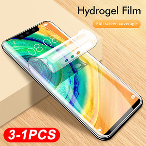 Soft Hydrogel Film For Oneplus 7T Pro Screen Protector Cover For Oneplue 7 For One plus 1+7T 6T 6 1+6T 5T 5 1+5T Film Not Glass(China)