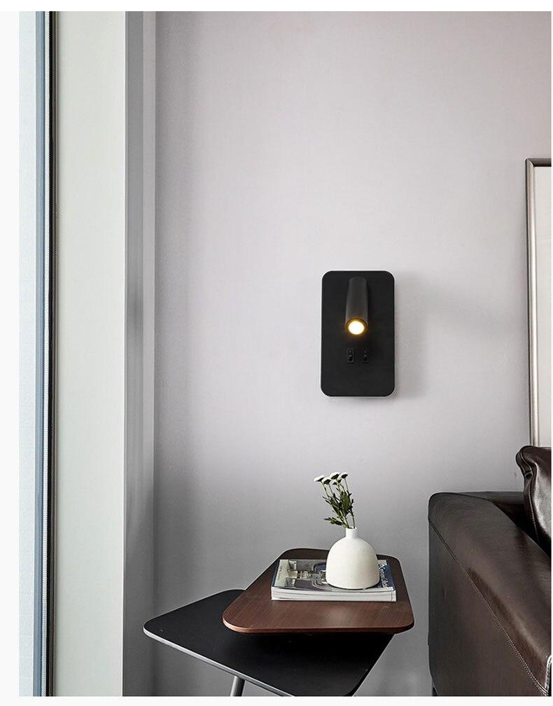 para casa quarto sala estar cabeceira luz do corredor preto & branco