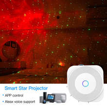 Projector Home Bluetooth Smart with Tuya Alexa Google/Home/Suitable for Party Wifi Wifi