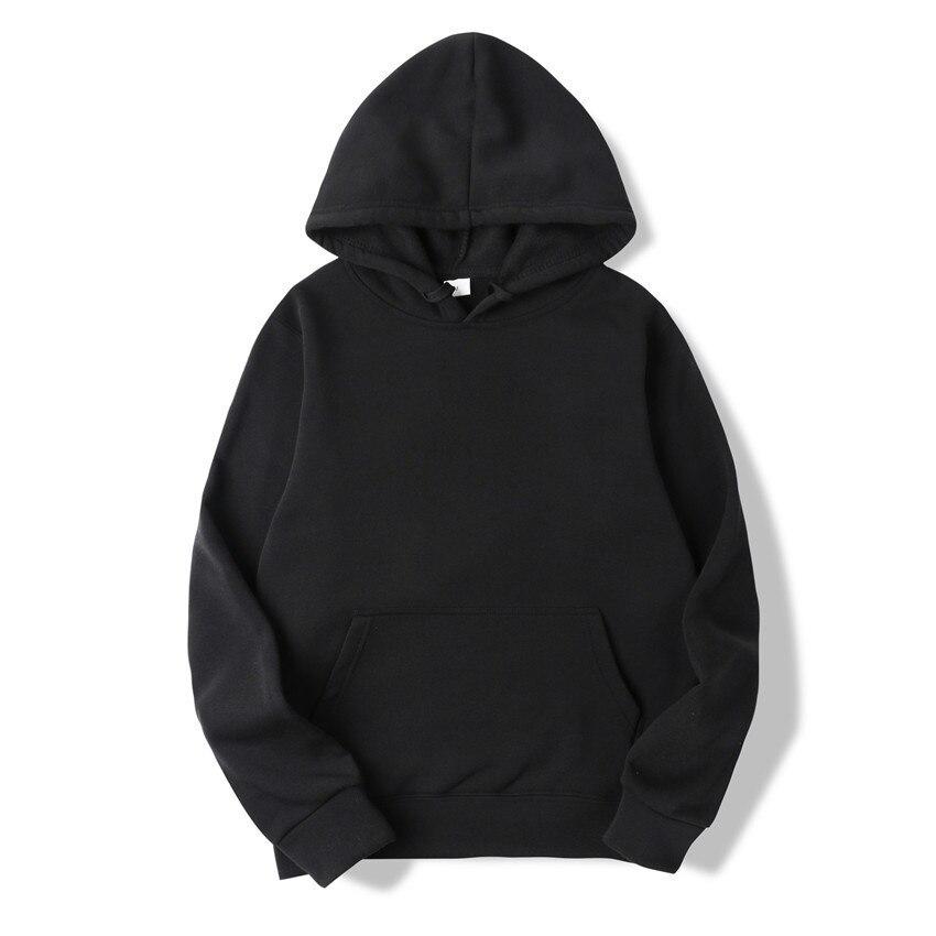 New Casual Pink Black Gray Blue HOODIE Hip Hop Street Wear Sweatshirts Skateboard Men/Woman Pullover Hoodies Male Hoodie