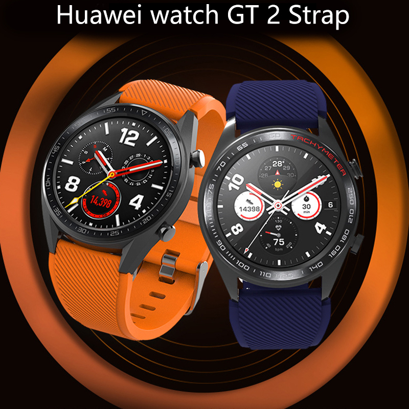 Galaxy Watch 46mm Strap For Samsung Gear S3 Frontier 40mm 44mm 22mm Watch Band Silicone Bracelet Active Huawei Watch Gt Strap