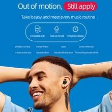 A6S TWS Headphone Bluetooth Earphone Stereo Sound Wireless HIFI Headset Bloototh  Earbuds for Xiaomi IPhone Huawei Samsung lenovo r1 original tws wireless headset bluetooth earphone earbuds ipx5 waterproof headphone bluetooth 5 0 for xiaomi huawei mi