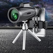 Lente Monocular Para Caza Y Senderismo Con Aumento De 18*62 visión Nocturna Portátil binoculares Hd Con Zoom Para Acampar... Cá # G3