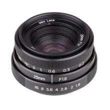 Cctv-Camera-Lens-Ii C-Mount Fuji 25mm F1.8 for X-Pro1 Black Hot-Sale New-Style