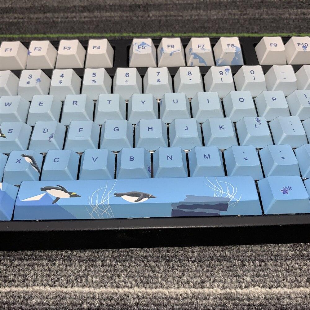 108 Keys/set Pbt Five Sides Dye Sublimation Key Cap Ice Age Personality Cherry Profile Mechanical Keyboard Keycap For MX Switch