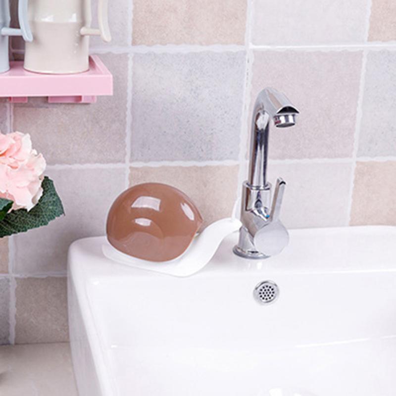 H2613a650b2f9430c9087970a1d4844a9b Snail Shape Soap Dispenser Cosmetics Bottles Bathroom Hand Sanitizer Shampoo Body Wash Lotion Bottle Empty Travel Bottle