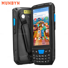 Munbyn Robuuste Android 8.1 Handheld Pda Scanner 1D 2D Barcode Reader 4G Wifi Bluetooth Gps Magazijn Pda Data Collector inventaris