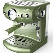 Retro home semi-automatic espresso machine,ESPRESSO 19 Bar Steam milk foam Fancy Coffee цена и фото