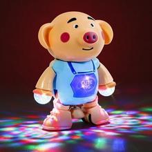 Забавные электрические свиньи Танцы Музыка ходьба игрушка Поющие интерактивные дети подарок для детей Малыш