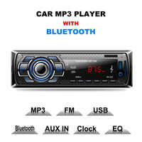 Original Multifunction Styling Car MP3 Player Car DVD SD Card Reader USB With Bluetooth Panel FM Tuner Aux In Remote Control