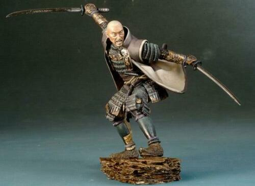1/32 54mm   Ancient Officer Warrior With Base  Resin Figure Model Kits Miniature Gk Unassembly Unpainted