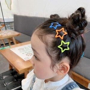 Latest 10 Pcs/Box Luminous Popular Hairpins Women Girls Kids Children Hair Clips Pins Barrettes Accessories Korea Headdress Gift