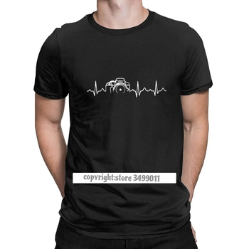 Heartbeat Of Camera Tshirt Men Cotton Casual Tee Shirts Crew Neck Photographer Shirt Tops Graphic Printed - discount item  63% OFF Tops & Tees