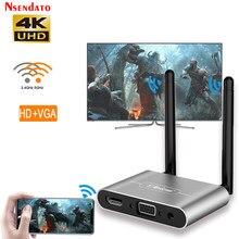Mirascreen-adaptador inalámbrico para TV, dispositivo con antena Dual, HD, VGA, AV, 1080P, wifi, 5G, 4K