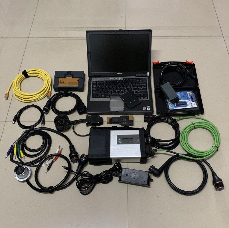SD Connect c5 mux + Icom a2 pour BMW + VAS 5054A odis5.1.3 pour a-udi V.W + ordinateur portable d630 4G 1 to ssd win7 3in1