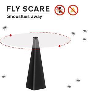 Insecten Verjager, abanico repelente de moscas, para mantener moscas y trampas al aire libre, para disfrutar de los mosquitos, insectos, Mata comida, de F5P8