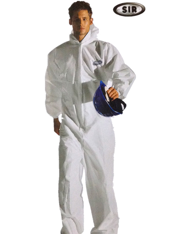 [Thinking And Sir Safe Protection] Dry Dust Protection Only One-piece Chemical Protective Clothing/Italy Import Brand