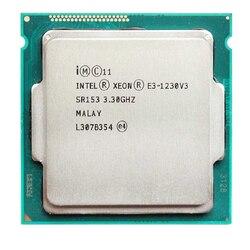 Intel Xeon E3-1230 v3 e3 1230 v3 3.3 GHz dört çekirdekli dört iplik CPU İşlemci 8M 80W LGA 1150 E3 1230v3