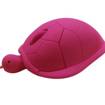 Cute Turtle Mouse Ergonomic Optical USB Wired Mice Funny Shape PC Computer Laptop Mouses 4