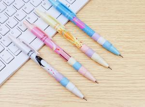 Image 4 - Coreia adorável pássaro animal pinguim lápis mecânico estudante lápis caneta automática para o miúdo escola escritório escrita fornecimento 48 pc/lote