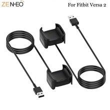 Сменное Зарядное устройство usb для fitbit versa 2 зарядный