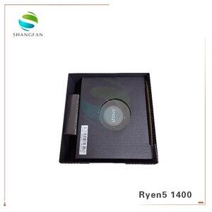 Image 4 - جديد AMD Ryzen 5 1400 R5 1400 3.2 GHz رباعية النواة معالج وحدة المعالجة المركزية YD1400BBM4KAE المقبس AM4 مع مروحة التبريد برودة